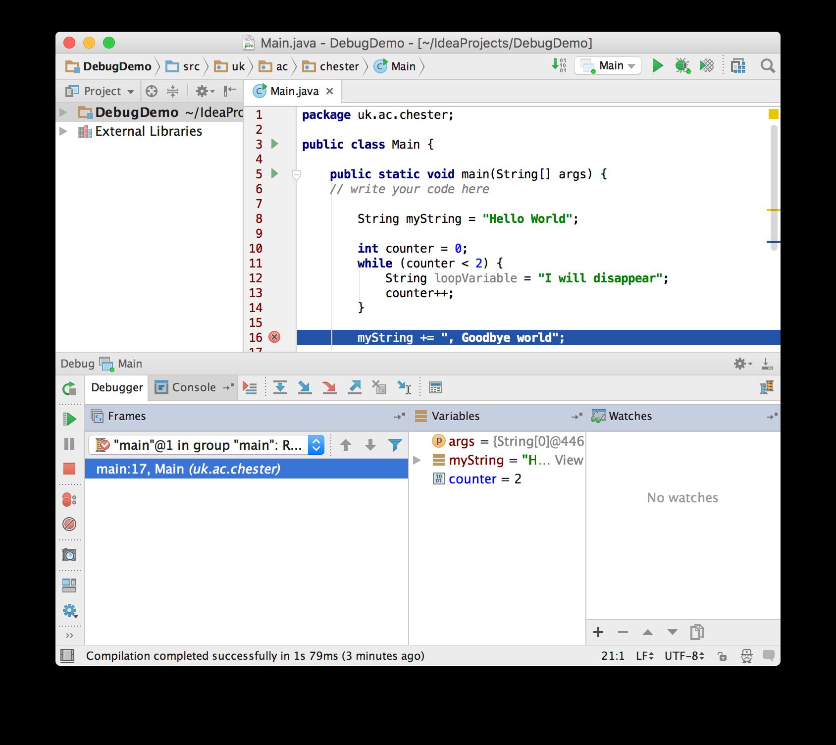 Debugging | Java | Andrew's Tutorials