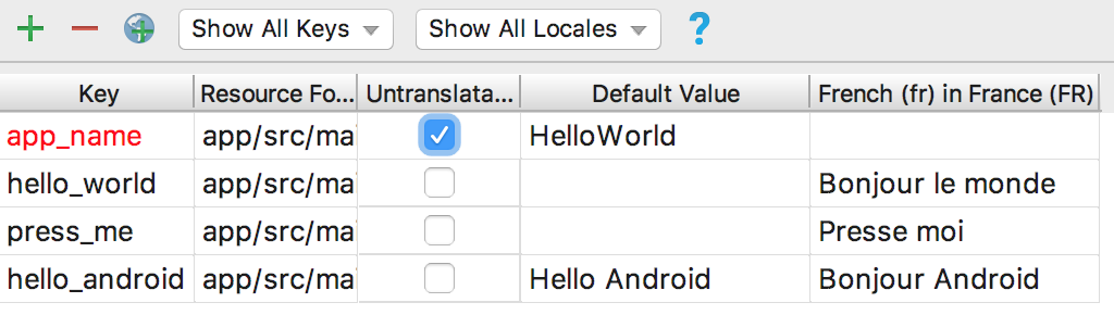 translations editor with translations added